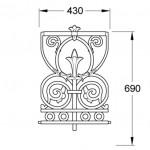 GA134A Prospect railing joiner panel (15.5kg)