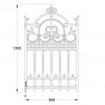 GA193 Imperial pedestrian gate (45kg)