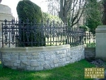 Gilberton Rochdale Collection Cast Iron Gates and Cast Iron Railings