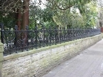 Prospect Rochdale Collection Cast Iron Gates and Cast Iron Railings