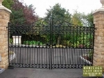 Richmond Rochdale Collection Cast Iron Gates and Cast Iron Railings