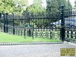 Stewart Collection Rochdale Cast Iron Gates and Cast Iron Railings