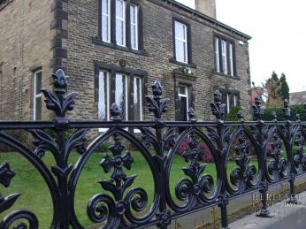 Rochdale Cast Iron Gates and Cast Iron Railings Terrace